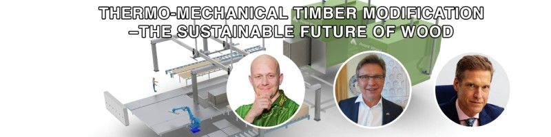 Thermo mechanical timber modification - The sustainable future of wood