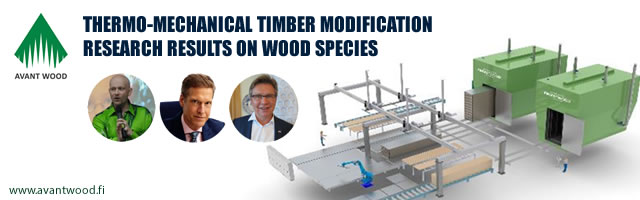 Thermo-Mechanical Timber Modification - Research Results on Wood Species